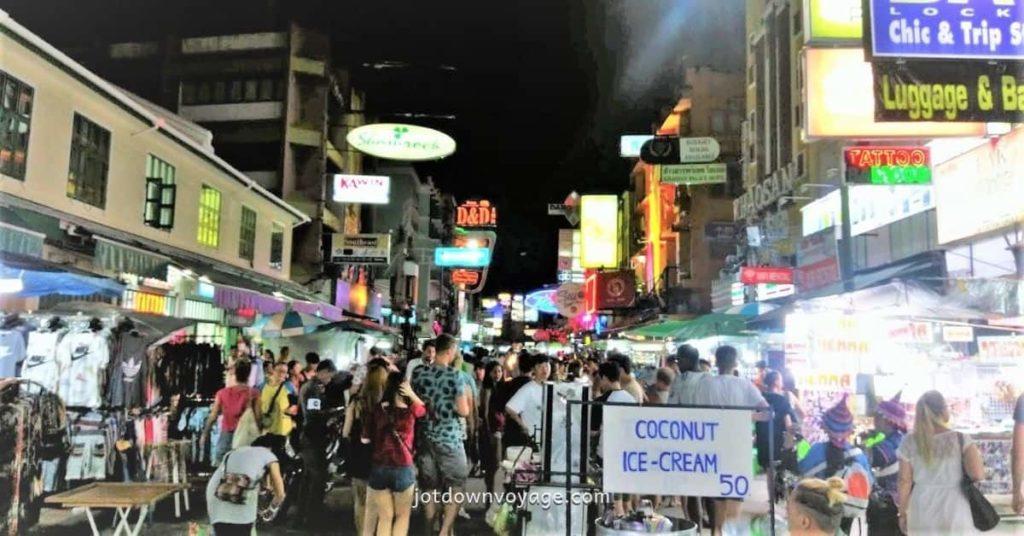 2019 泰國自由行,曼谷 24 個超人氣必去景點推薦《新手全攻略》:考山路 Khao Sahn Road