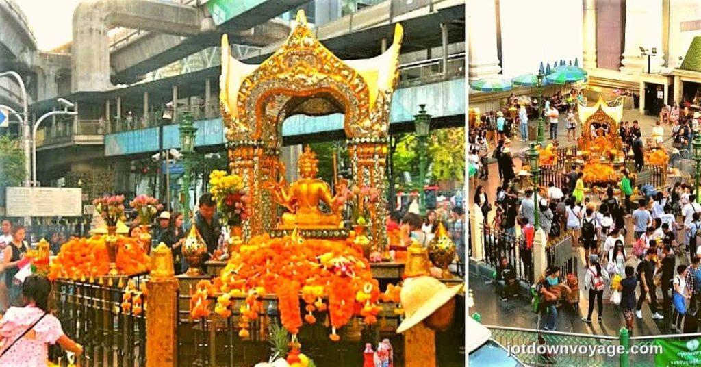 2019 泰國自由行,曼谷 24 個超人氣必去景點推薦《新手全攻略》:曼谷四面佛 The Erawan Shrine