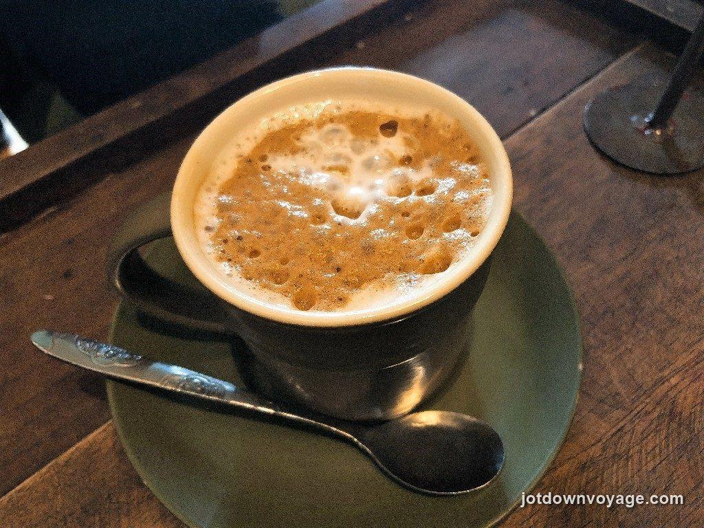 椰奶咖啡 @越南老城區36古街美食推薦-Cong Caphe 咖啡館.還劍湖.河內自由行食記