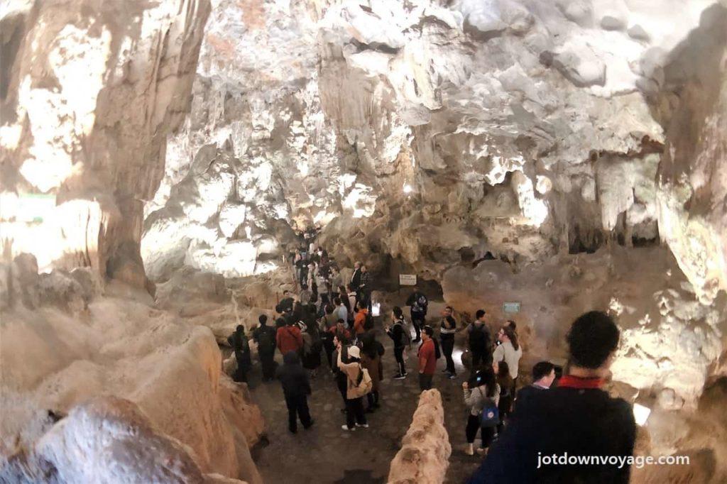 天宮洞 @下龍灣一日遊.KLOOK行程參加心得&分享|越南自由行.景點 |Halong Bay Day Tour, Thien Cong Cave
