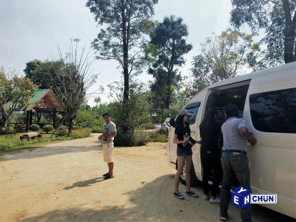 2019 泰國遊記:Kanchanaburi 北碧府一日遊、泰緬鐵路、死亡鐵路經典段、大象洗澡