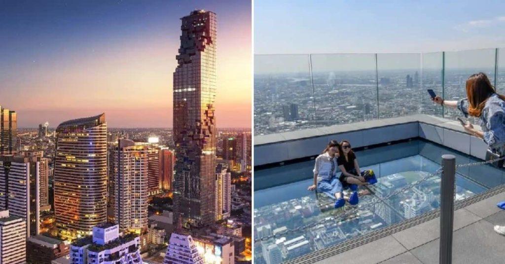 2019 泰國自由行,曼谷 24 個超人氣必去景點推薦《新手全攻略》:King Power Mahanakhon Skywalk高空酒吧