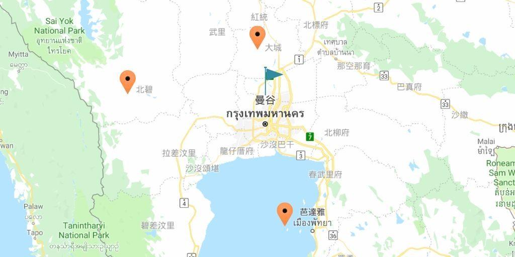 2019 泰國自由行,曼谷 24 個超人氣必去景點推薦《新手全攻略》地圖 Map