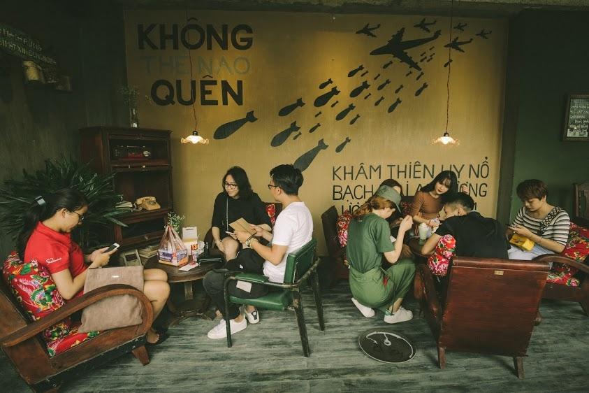 越南老城區36古街美食推薦-Cong Caphe 咖啡館.河內自由行食記(韓國海外分店)報導