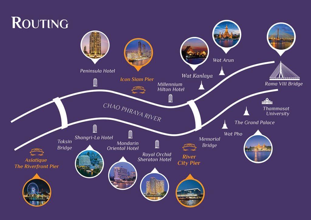 曼谷自由行-昭披耶河遊船自助晚餐推薦:昭披耶河公主號