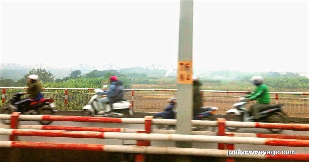 河內街景@下龍灣一日遊車程