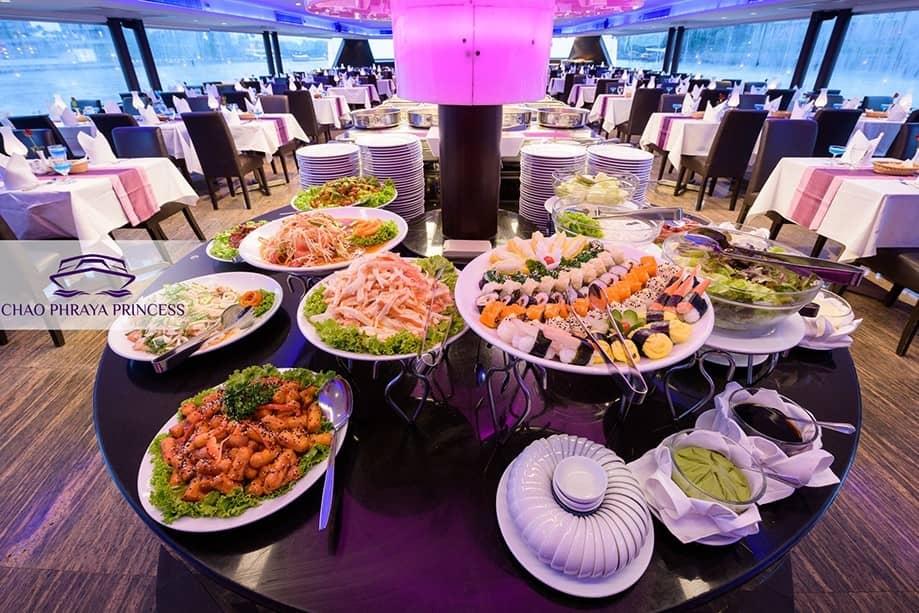 曼谷自由行-昭披耶河遊船自助晚餐推薦:昭披耶河公主號 Chao Phraya Princess Cruise Dinner Buffet  Guide