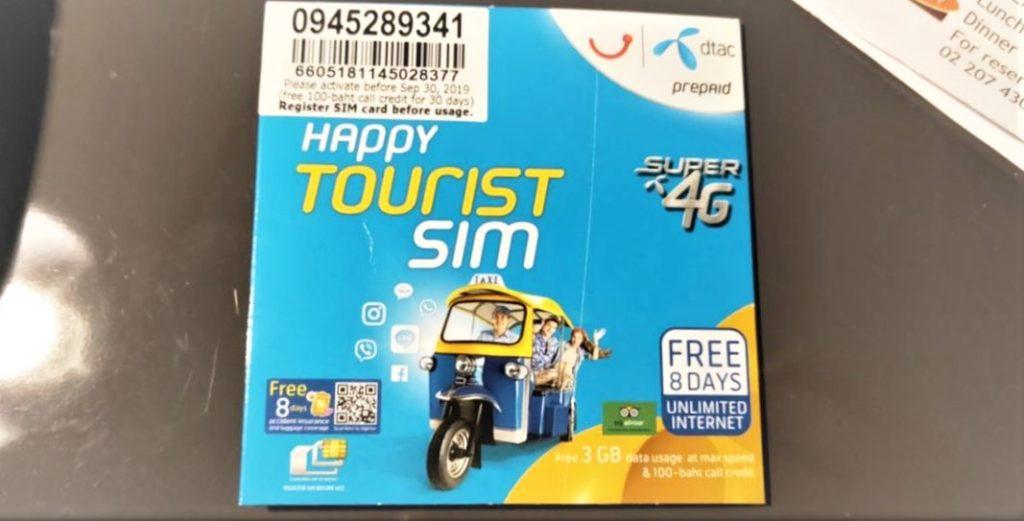 去泰國一定要知道的14個旅遊注意事項-手機上網