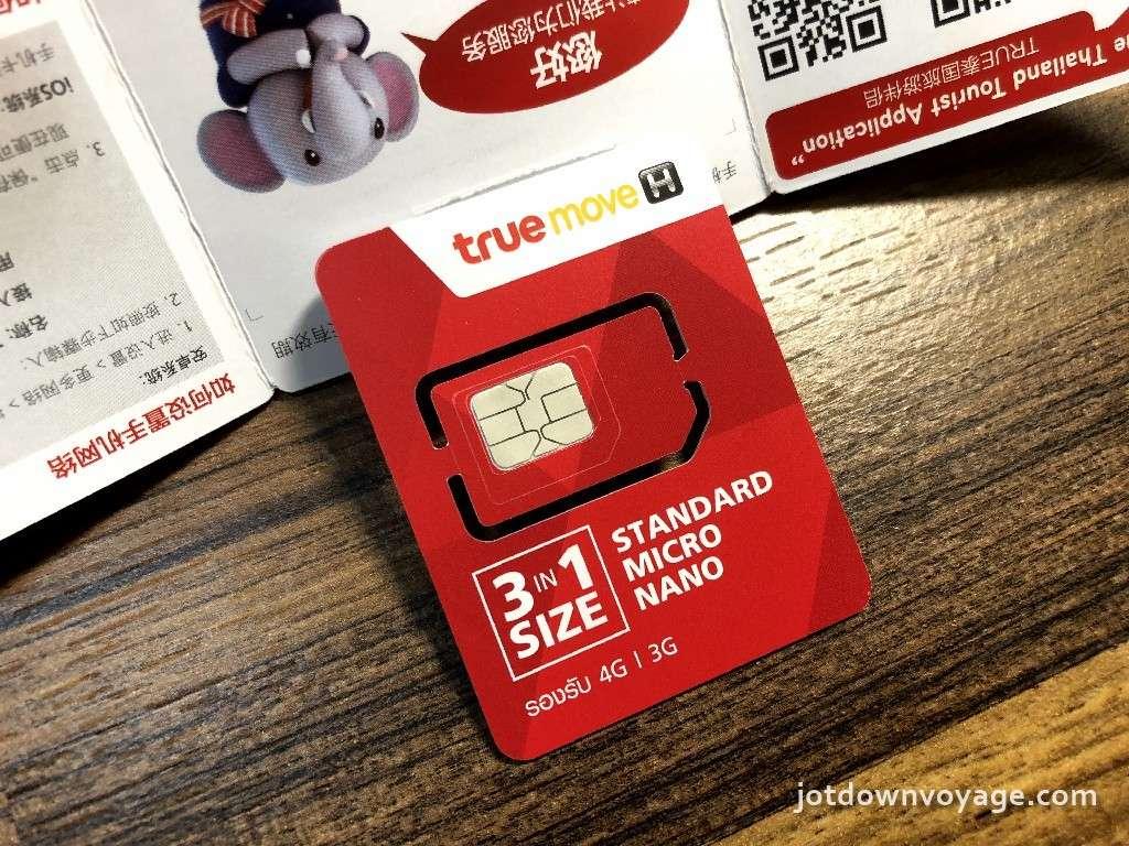 Joytel thailand sim card