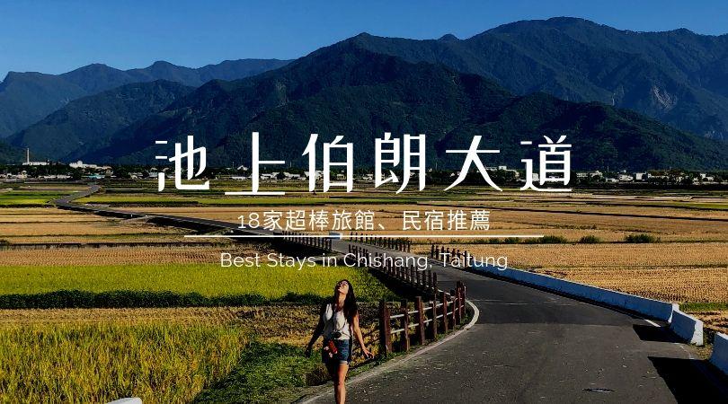 【2019 台東旅行】池上伯朗大道18家民宿旅館推薦.悠遊米鄉