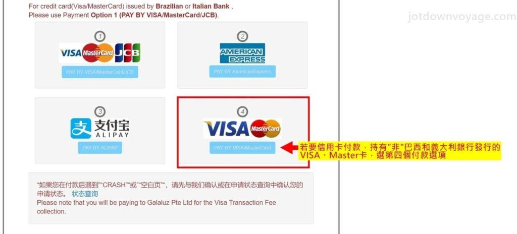 緬甸簽證 eVisa 操作教學|線上申請 (Tutorial | Myanmar eVisa Application ) 申請步驟六:付款、注意事項