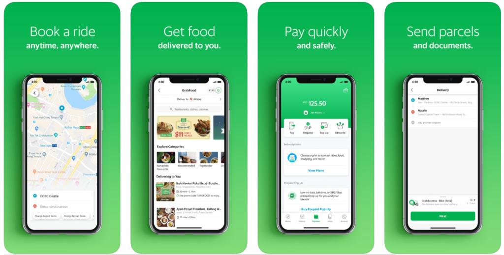 去泰國一定要知道的14個旅遊注意事項-旅遊App推薦: Grab