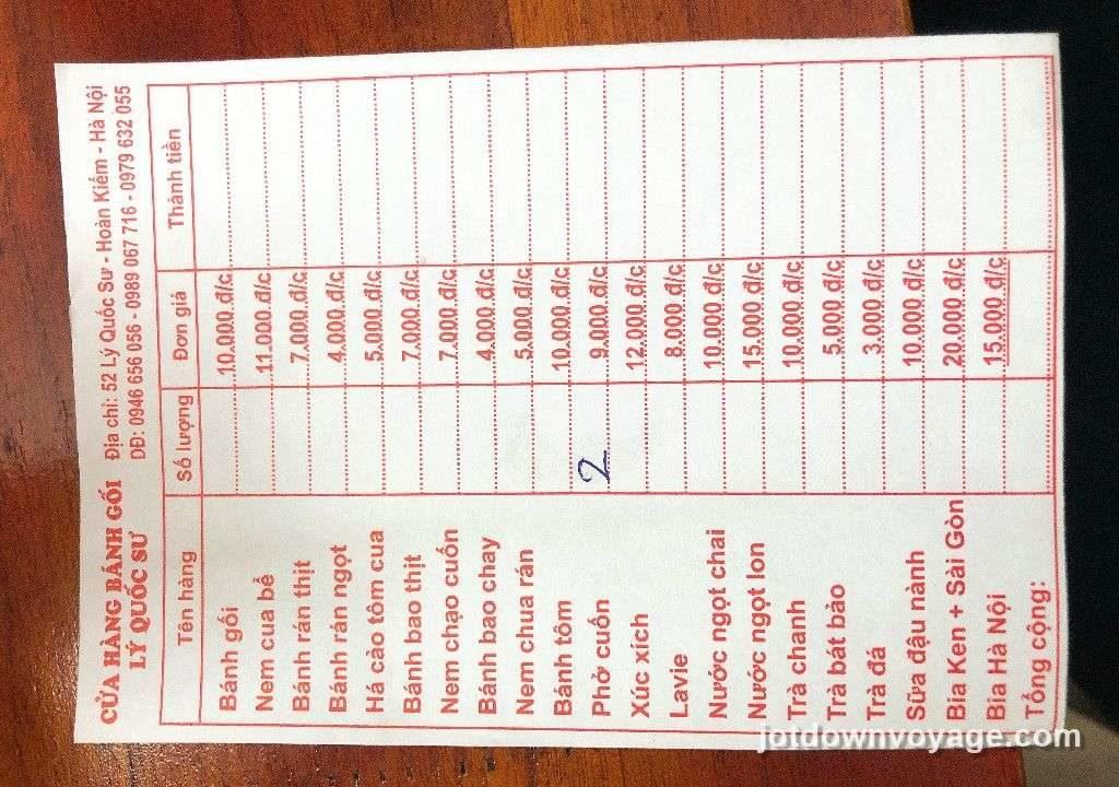 越南自由行河內老城區美食探索攻略.2019 食記.河內36古街區|隱藏版街頭美食、行程規劃推薦、越式春捲