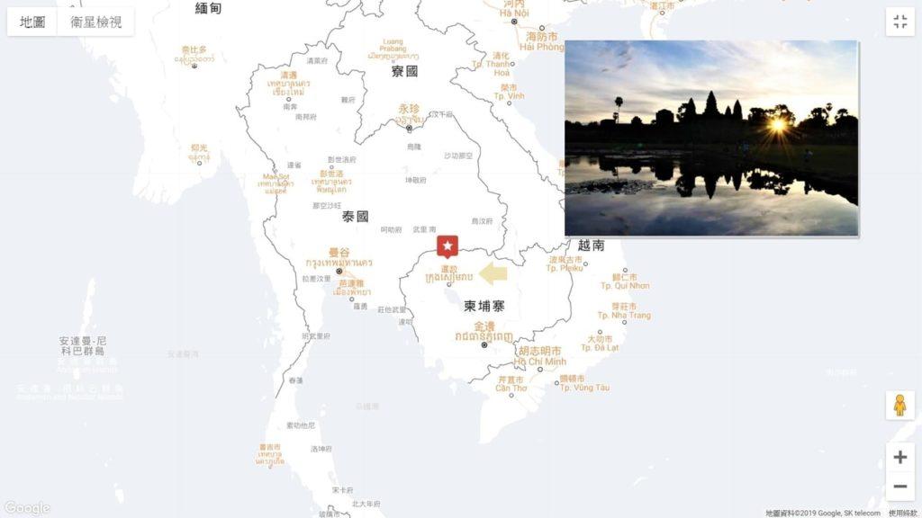 柬埔寨地圖:2020 吳哥窟自由行全攻略.路線地圖、規劃建議
