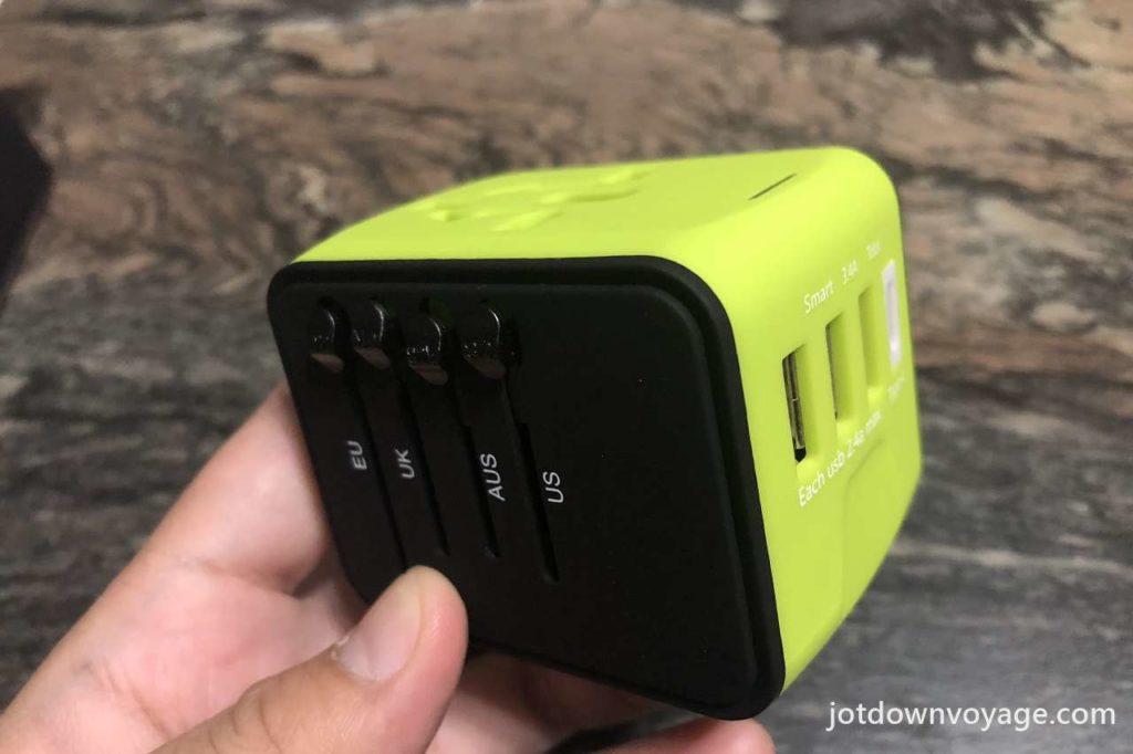 開箱實測-新一代旅行萬用轉接頭;ABS 材質(高硬度)和PC材質(耐冷熱及高韌性)