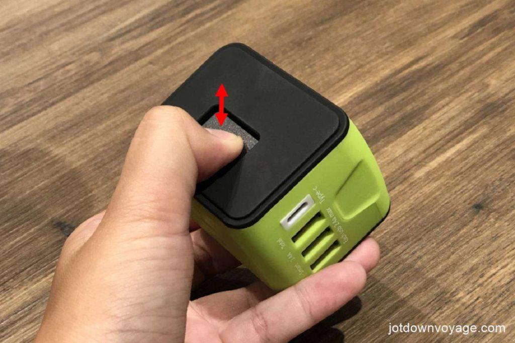 開箱實測-新一代旅行萬用轉接頭;插頭切換