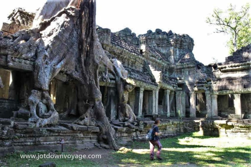 塔普倫寺|柬埔寨自由行:吳哥窟五天四夜(費用、機票、簽證、住宿、門票...)全攻略