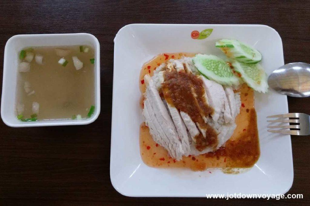 道地泰式海南雞飯|泰國自由行街邊小吃美食推薦