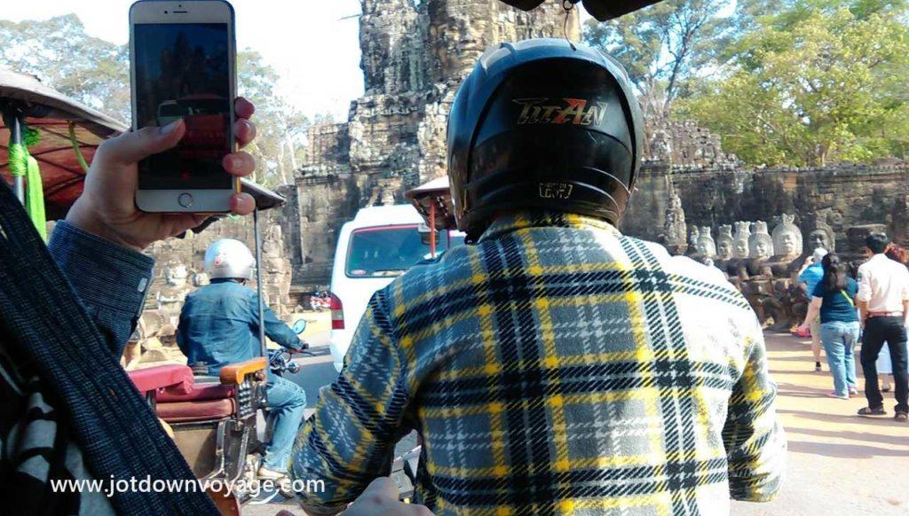 吳哥窟的嘟嘟車 Tuk Tuk Angkor Wat, Siem Reap
