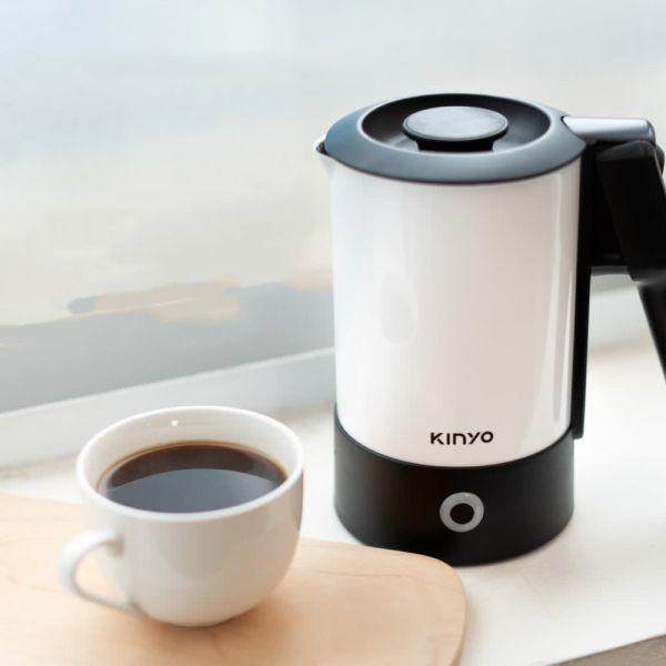 KINYO 雙電壓0.6L旅行快煮壺 AS-HP80