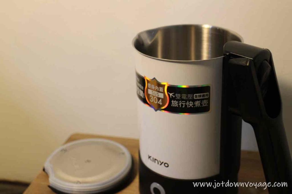 KINYO 雙電壓0.6L旅行快煮壺 AS-HP80 實測開箱評價推薦