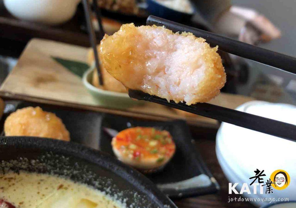 金錢蝦餅《泰酷 Thai Cook》桃園南平路 泰式料理