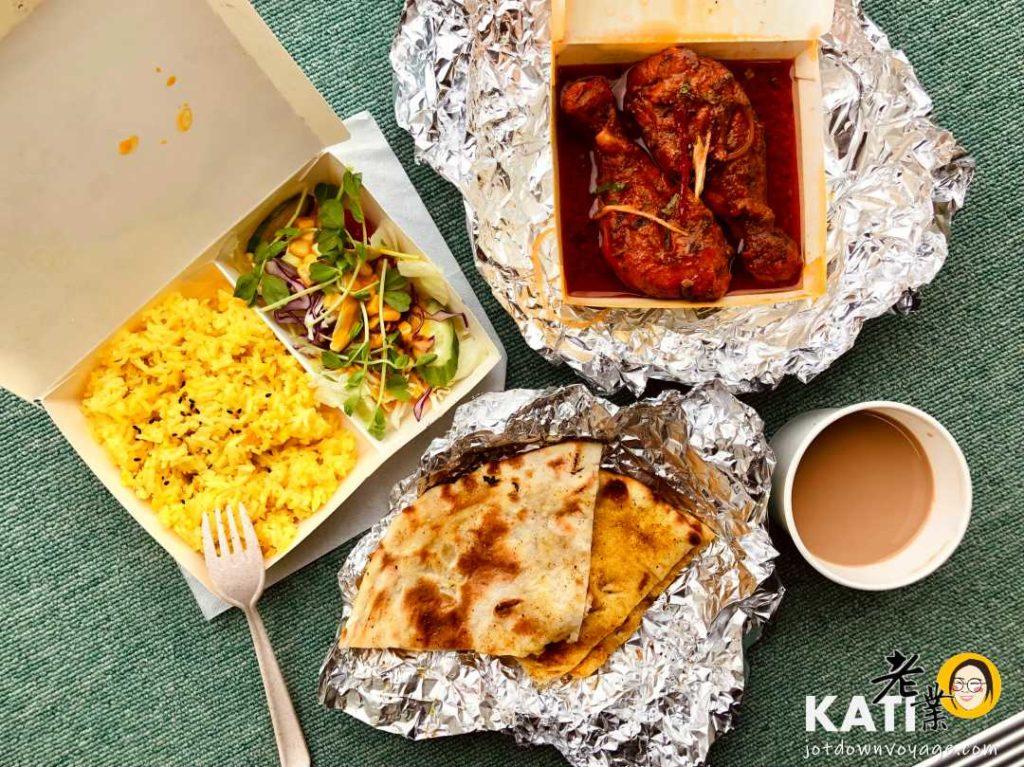 馬友友印度廚房 商業午餐(坦都香料碳烤雞腿套餐 Tandoori Chicken set)
