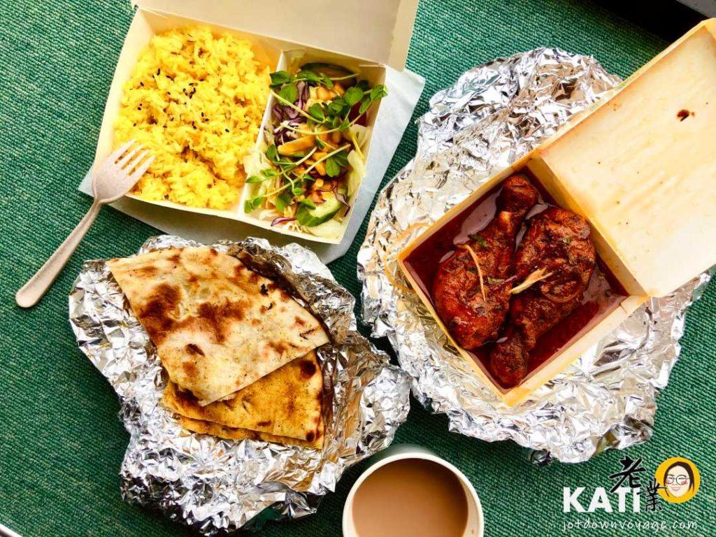 馬友友印度廚房(坦都香料碳烤雞腿套餐 Tandoori Chicken set)