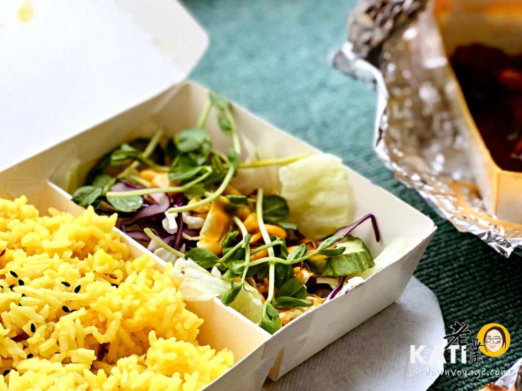 馬友友印度廚房 商業午餐 沙拉