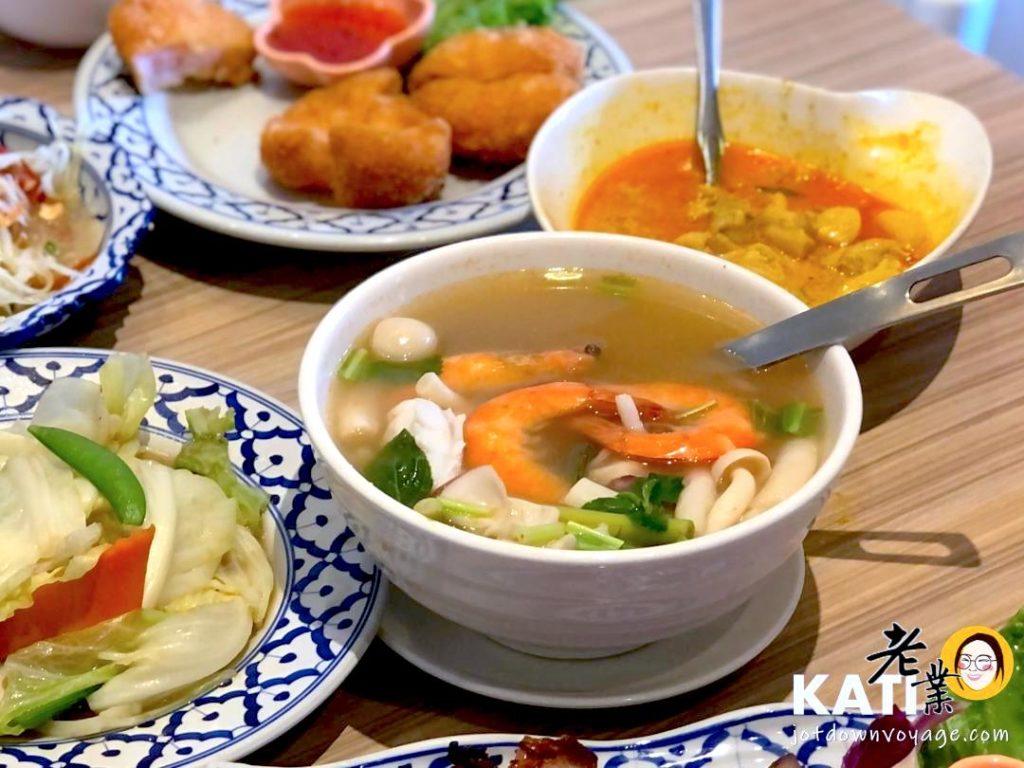 洛查理泰式料理 泰北風味 清香酸辣海鮮湯
